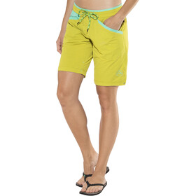 La Sportiva Nirvana Short Femme, citronelle/mint